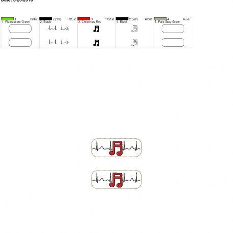 Band-EKG-Fob 4×4 grouped
