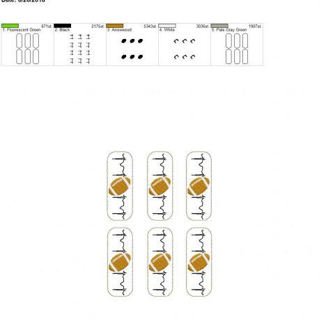 Football-EKG-Fob 5×7 grouped