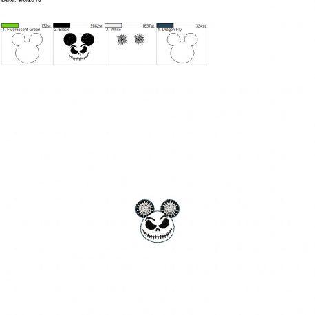 Jack mouse feltie 2inch
