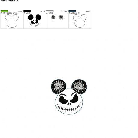 Jack mouse feltie 3.75inch