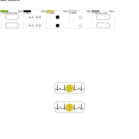Tennis-EKG-Fob 4×4 grouped