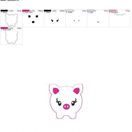 Piggy bank pouch 4×4
