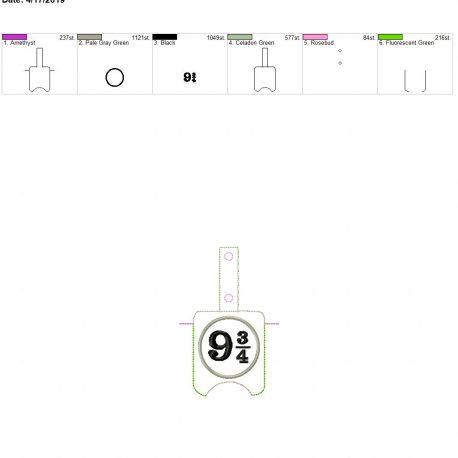 9 3.4 Sanitizer holder snap tab 5×7
