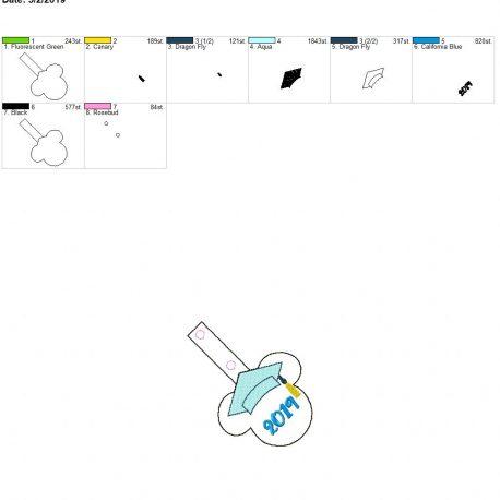 Mouse Grad 2019 snap tab 4×4