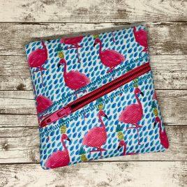 ITH – Beveled Zipper Bag – 4 sizes – Digital Embroidery Design