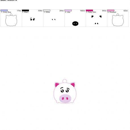 piggy toy eyelet 4×4