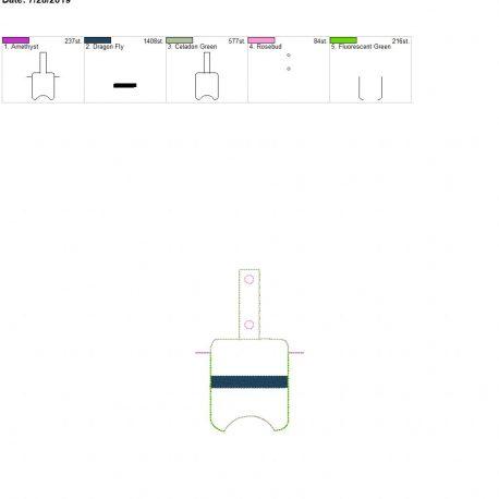 Blue-Line-Sanitizer-Holder-Snap-Tab-5-x-7