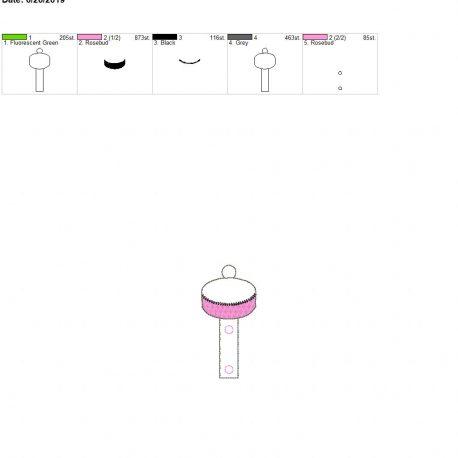 Hockey puck Water bottle holder eyelet 4×4 single