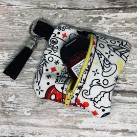 ITH -Kiki Zipper Pouch 4×4 – Digital Embroidery Design