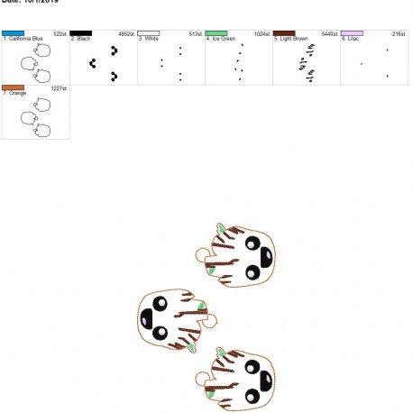 Baby tree eyelet 5×7 grouped