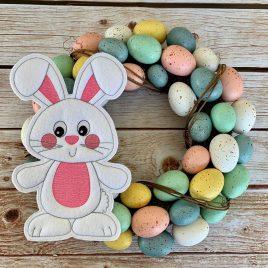 ITH – Happy Bunny Felties – 5 sizes – Digital Embroidery Design