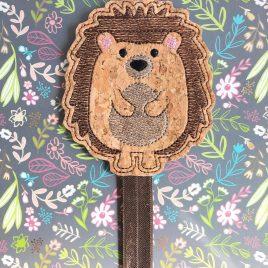ITH – Hedgehog – Book Band – Digital Embroidery Design
