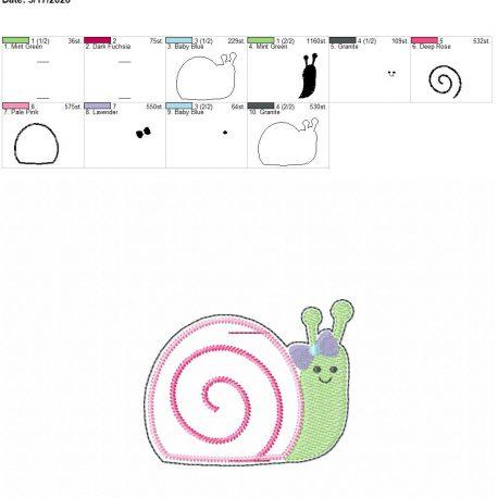 Snail Girl book band 4×4
