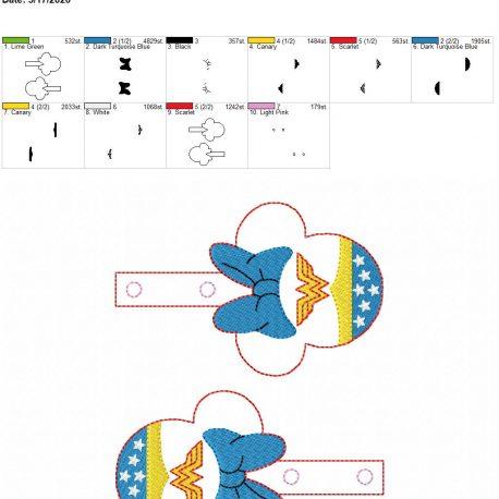 Wonder mouse snaptab 5×7 grouped