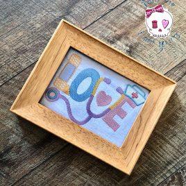 Nurse Love – 4 Sizes – Digital Embroidery Design