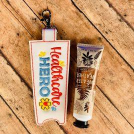 ITH Healthcare Hero Hand Cream Holder 5×7 – DIGITAL Embroidery DESIGN