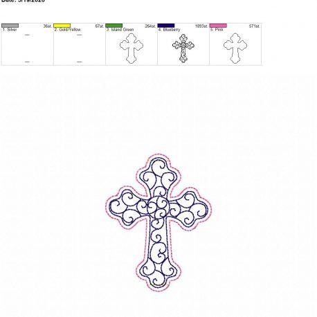 Cross book band 4×4