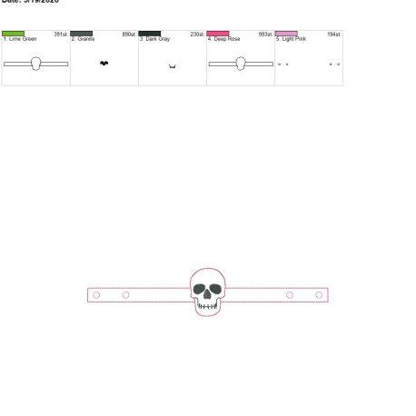 Mask Extender Skull 6×10