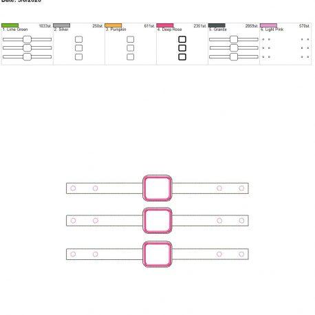 Mask Extender applique 6×10 grouped