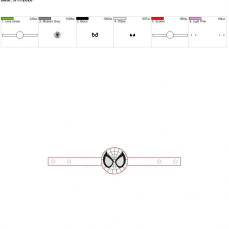 Mask Extender spider hero 6×10