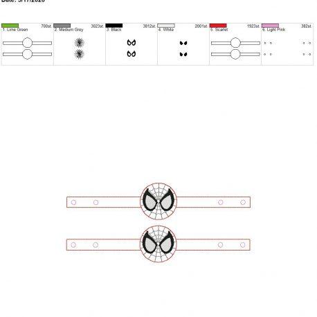Mask Extender spider hero 6×10 grouped