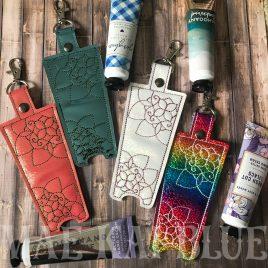 ITH Mandala Hand Cream Holder 5×7 – DIGITAL Embroidery DESIGN