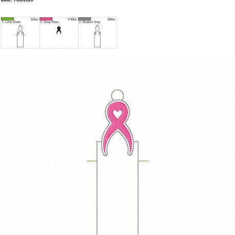 Awareness chapstick holder eyelet 5×7