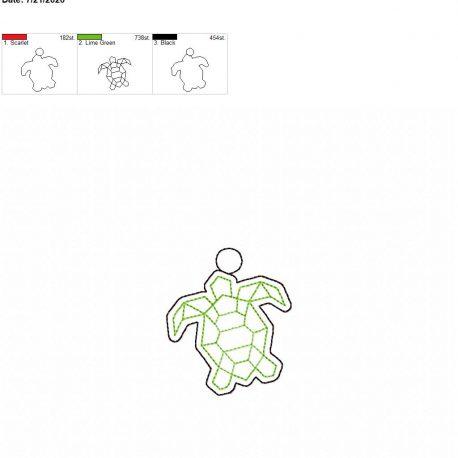 Geo turtle eyelet 4×4