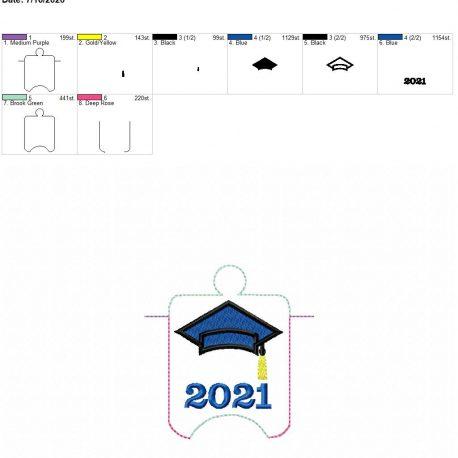 Grad 2021 sanitizer holder eyelet 4×4