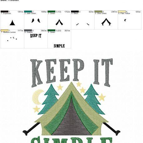 Keep it simple 6×10