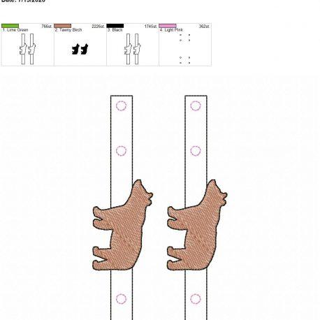 Mask Extender Bear 5×7 grouped