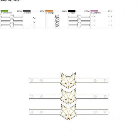 Mask Extender Geo Fox 6×10 grouped