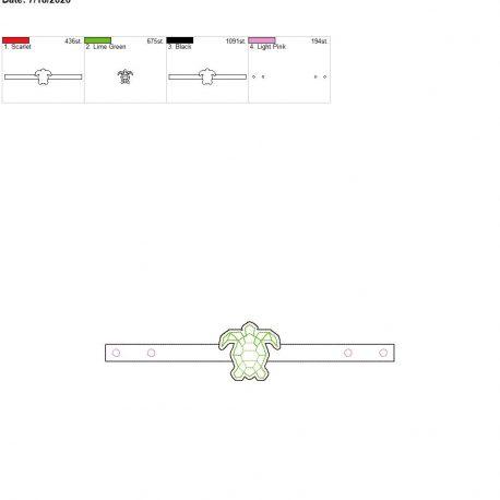 Mask Extender Geo Turtle 6×10