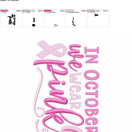 In october we wear pink 5×7