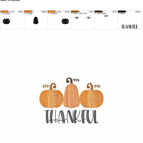 Thankful sketch 4×4