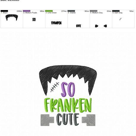 so franken cute sketch 4×4