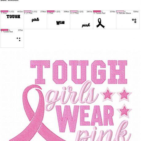 tough girls wear pink 6×10