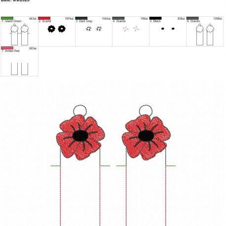 Poppy chapstick holder eyelet 5×7 grouped