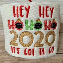 Hey Hey Ho Ho Ho – 3 Sizes – Digital Embroidery Design